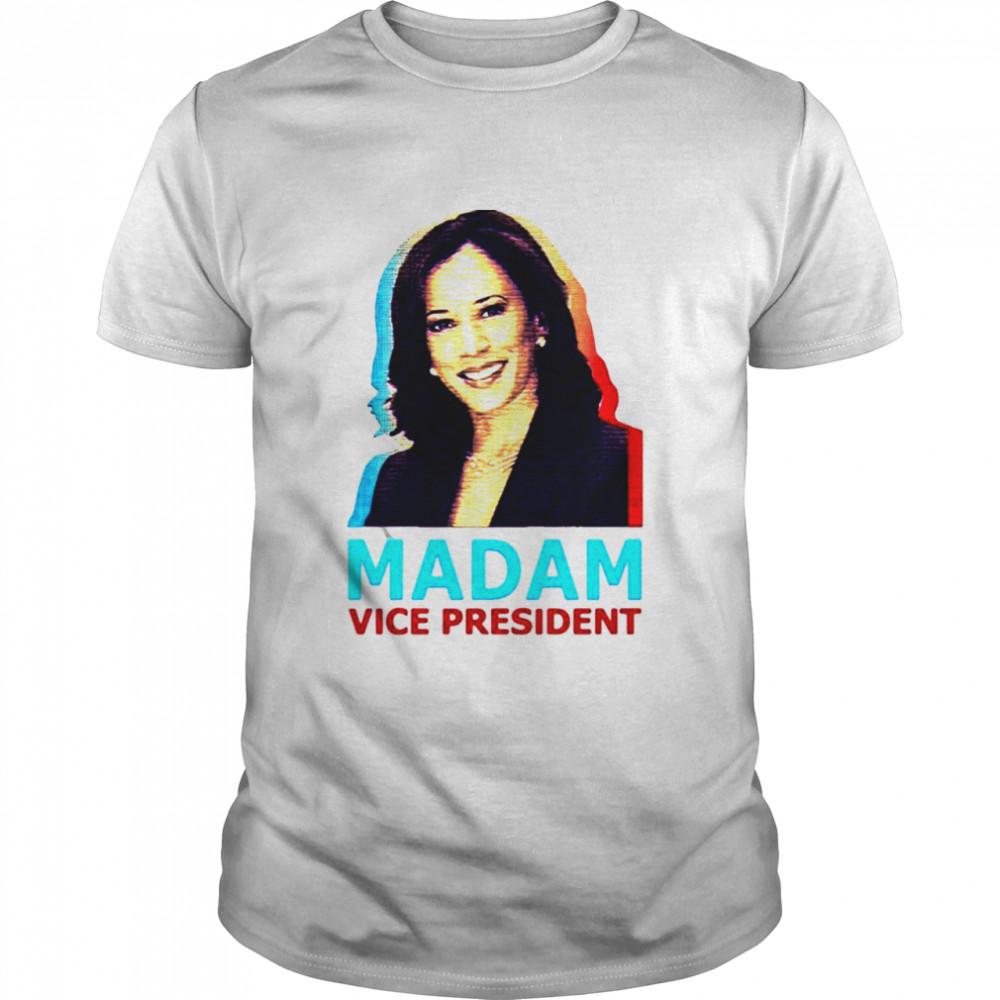 Kamala harris madam vice president shirt