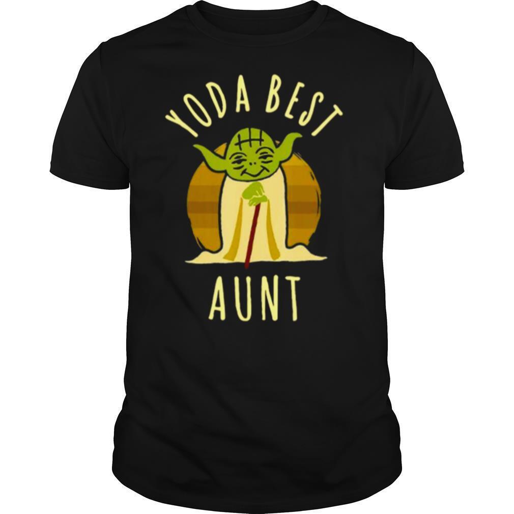 Star War Yoda Best Aunt 2021 Vintage shirt