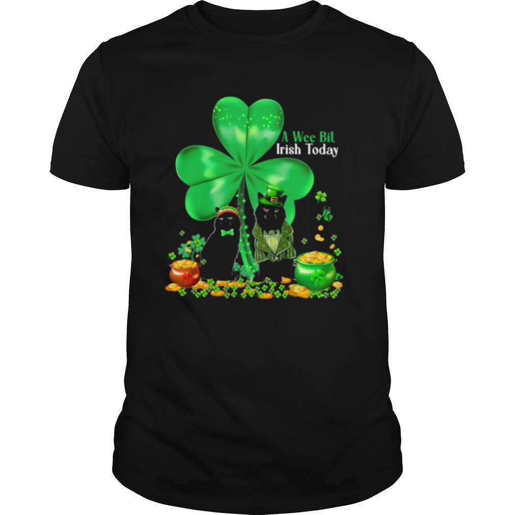 A Wee Bil Irish Today Cat Lucky Grass shirt
