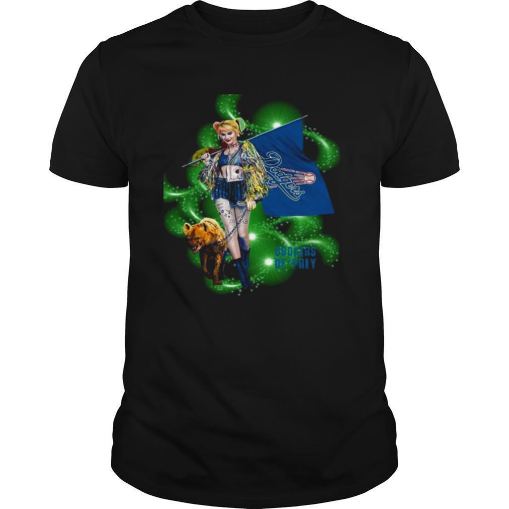 Harley Quinn Dodgers Prey shirt