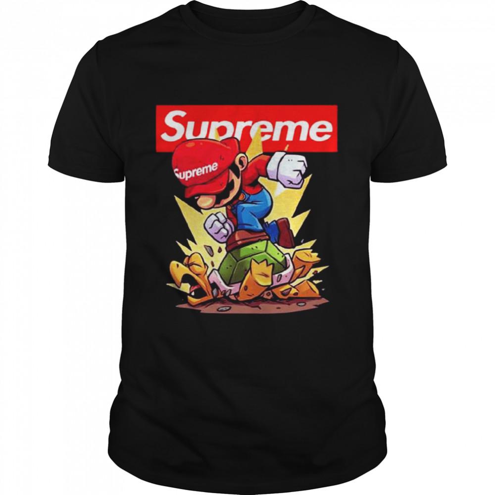 Supreme Mario Gaming shirt