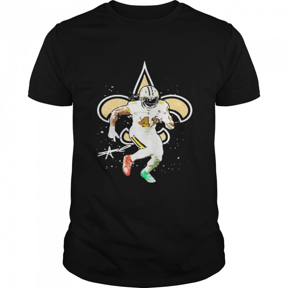 Alvin Kamara New Orleans Saints signature shirt