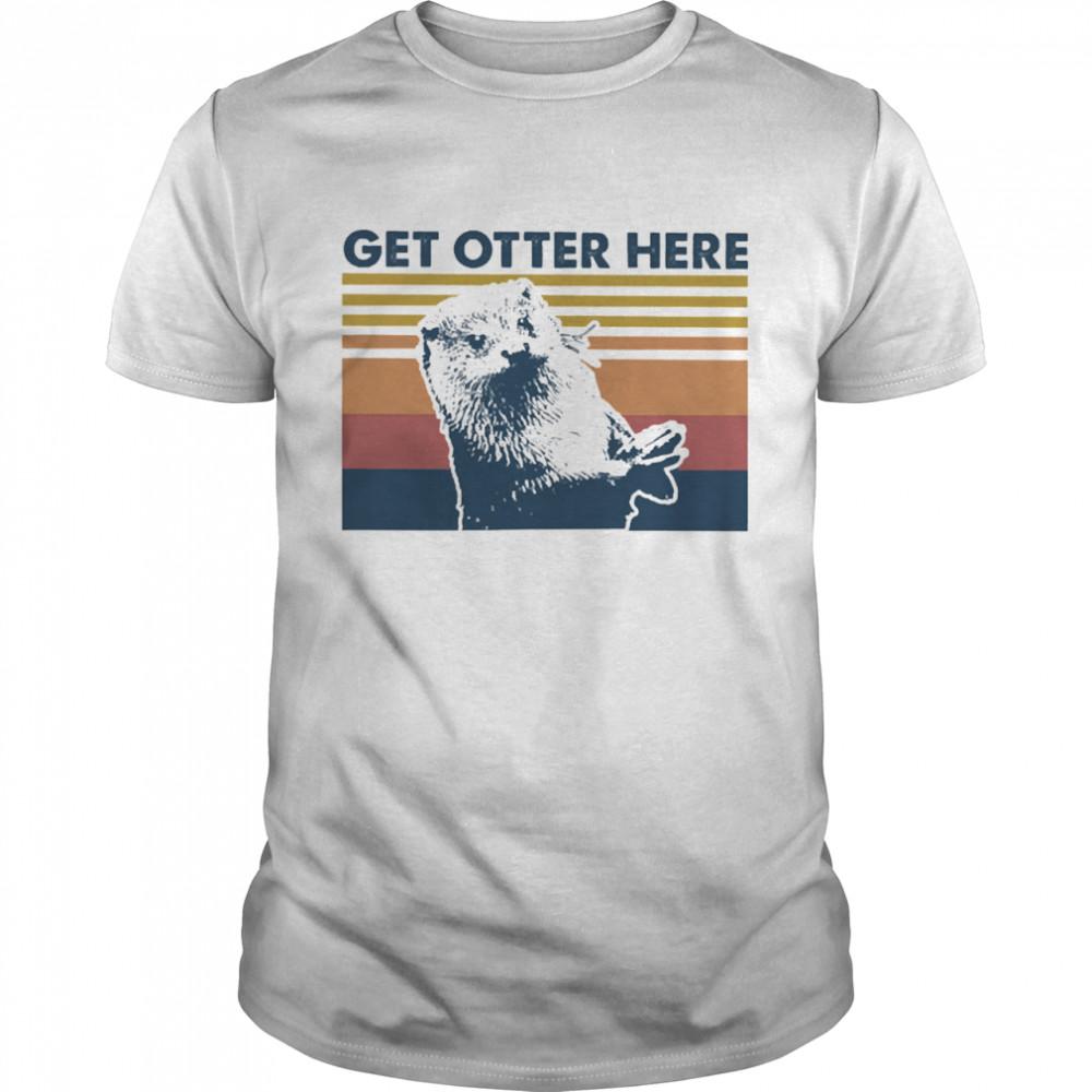 Get Otter here vintage shirt