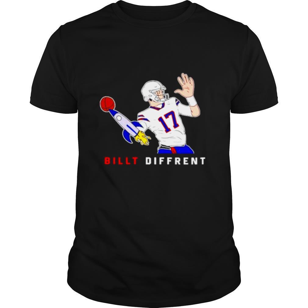 Josh Allen Buffalo Bills Billt Different 17 shirt