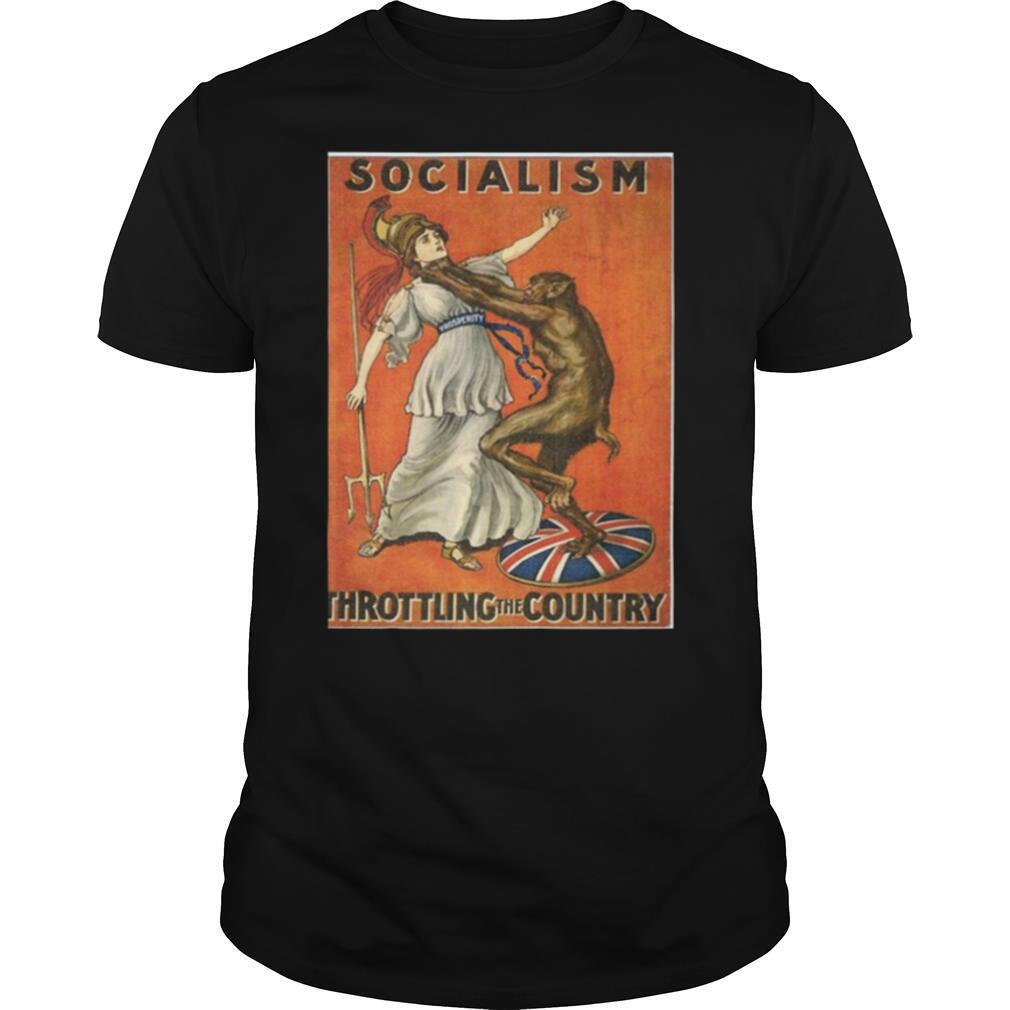 Socialism Throttling The Country shirt