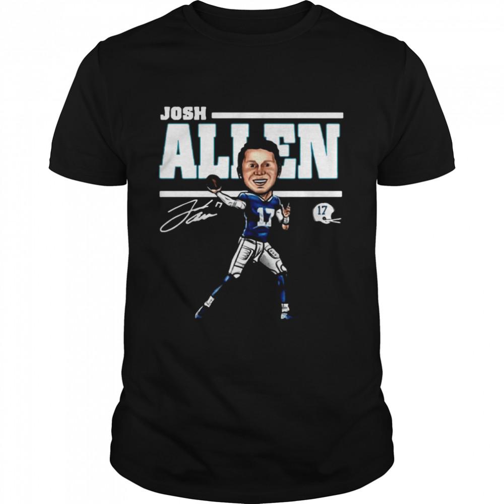 17 Josh Allen Buffalo Bills signature shirt