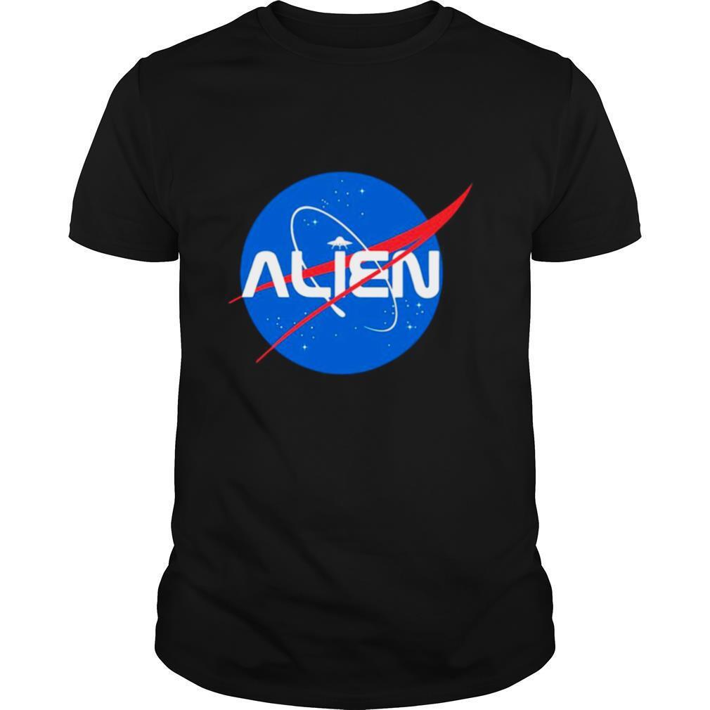 Alien NASA Explorer shirt