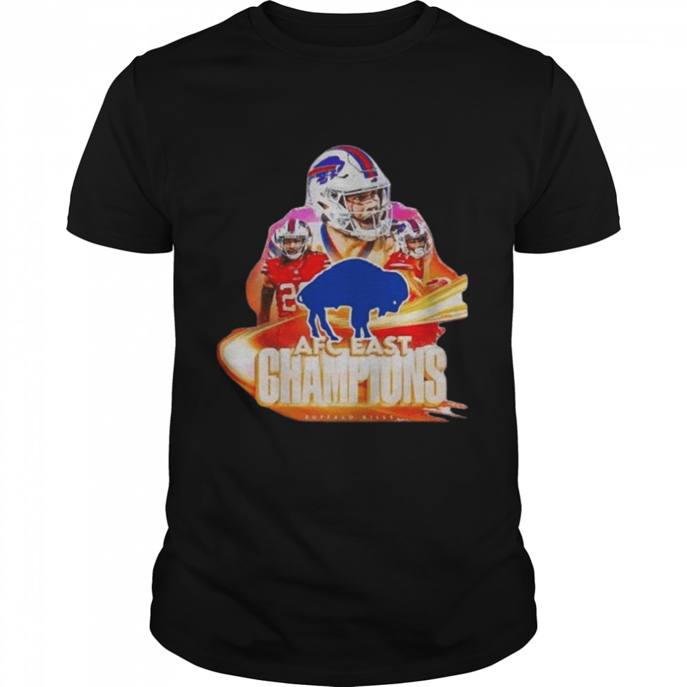 Buffalo Bills Team AFC East Champions 2020 shirt
