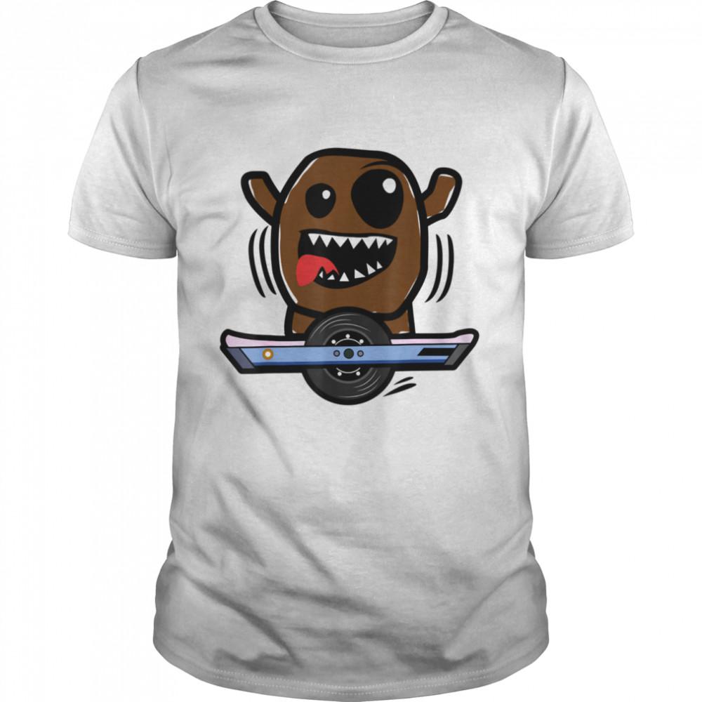 Electric Skateboard Skateboarding One Whee Rider shirt