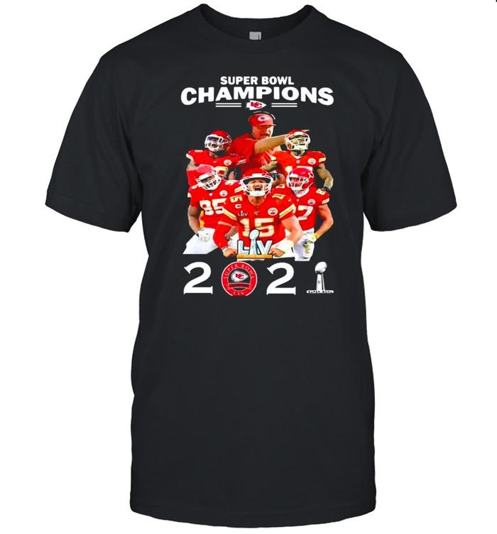 Super Bowl Champions Chiefs tshirt
