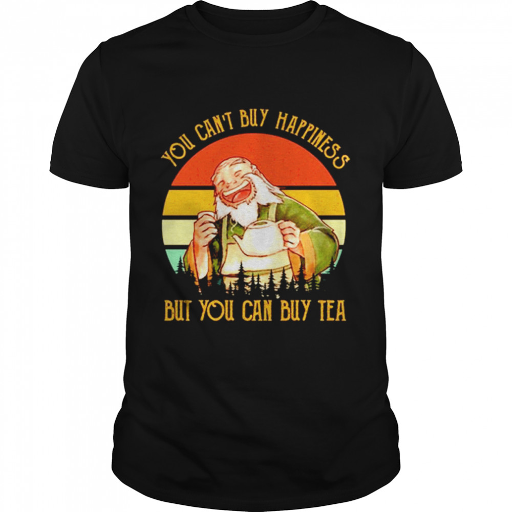 You Can't Buy Happiness But You Can Buy Tea Vintage shirt