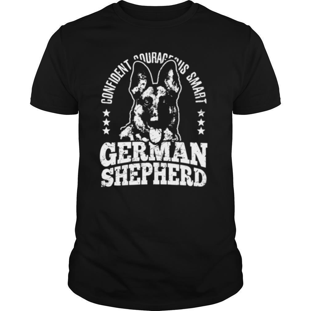 German Shepherd Dog Confident Courageous Smart Alsatian Dog shirt