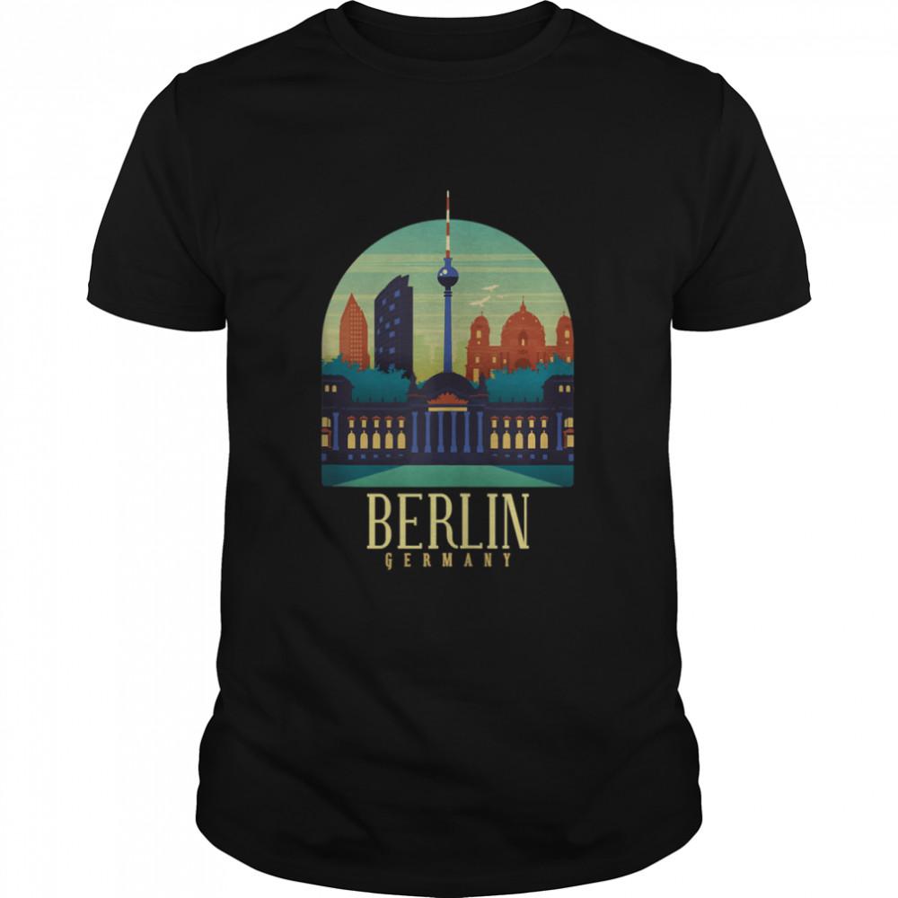 World Traveler in Berlin shirt