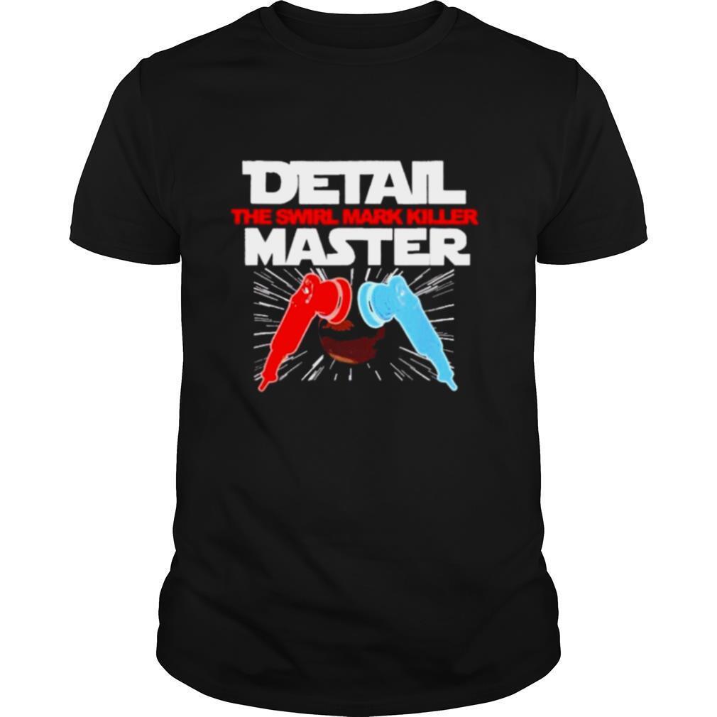 Auto detailer detail master da polisher sci fi shirt