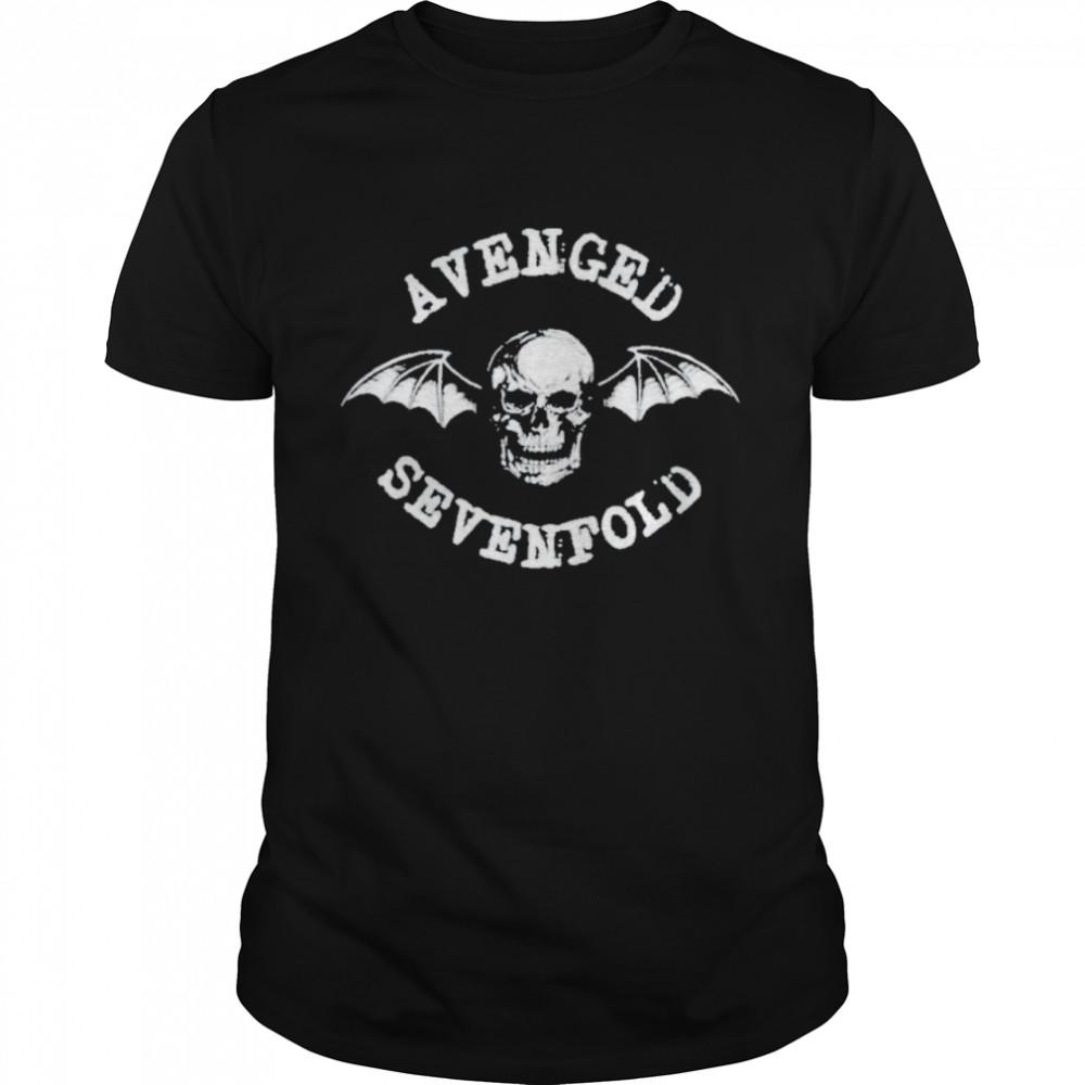 Avenged sevenfold merch classic deathbat shirt
