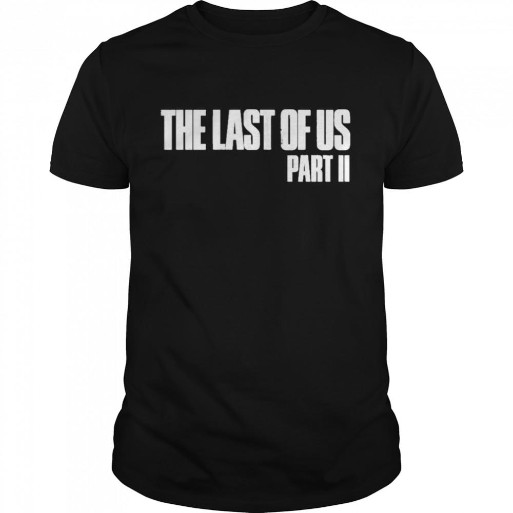 The last of us merchandise the last of us part ii shirt
