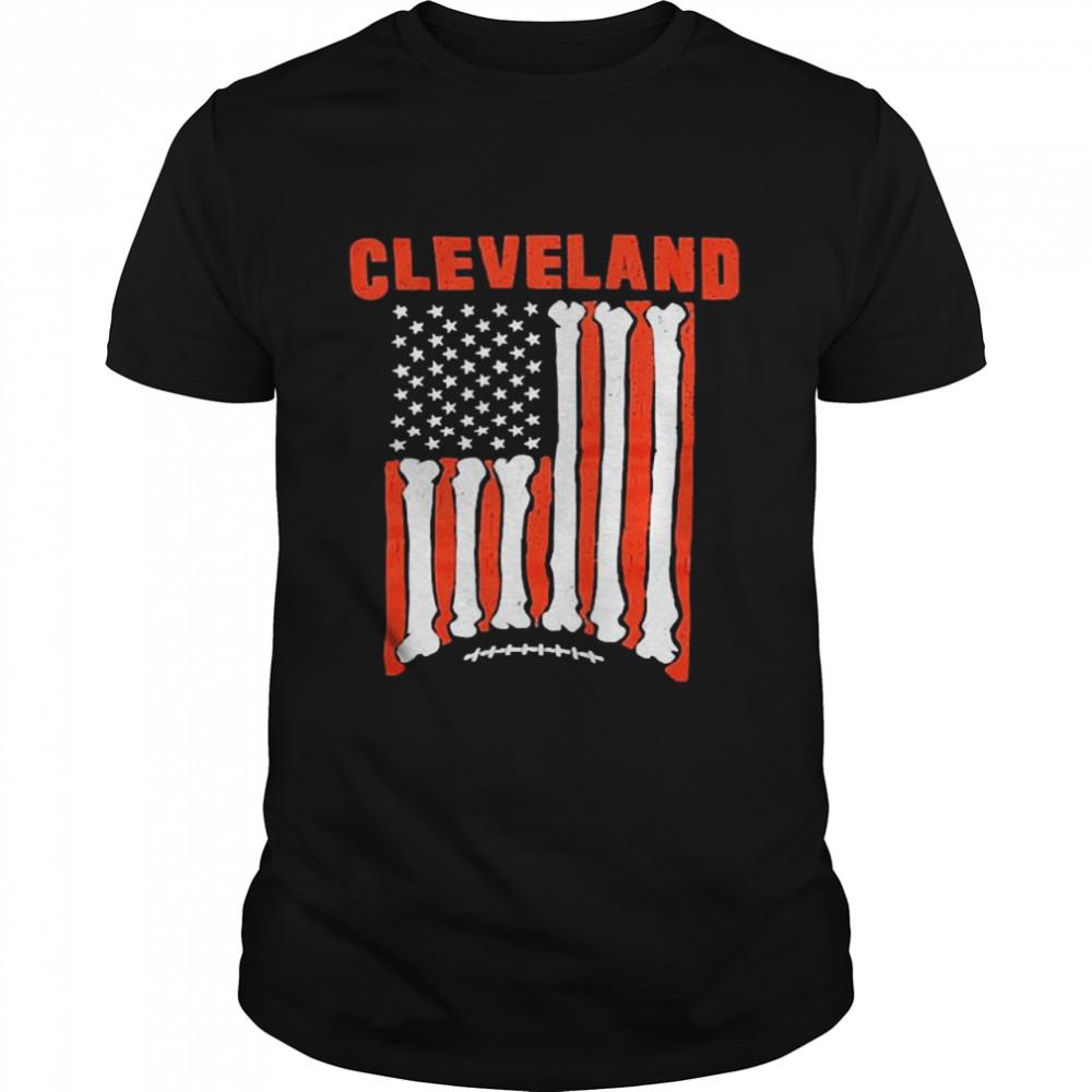 Cleveland Football Flag shirt