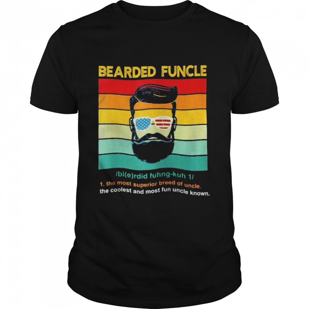 Bearded funcle vintage shirt