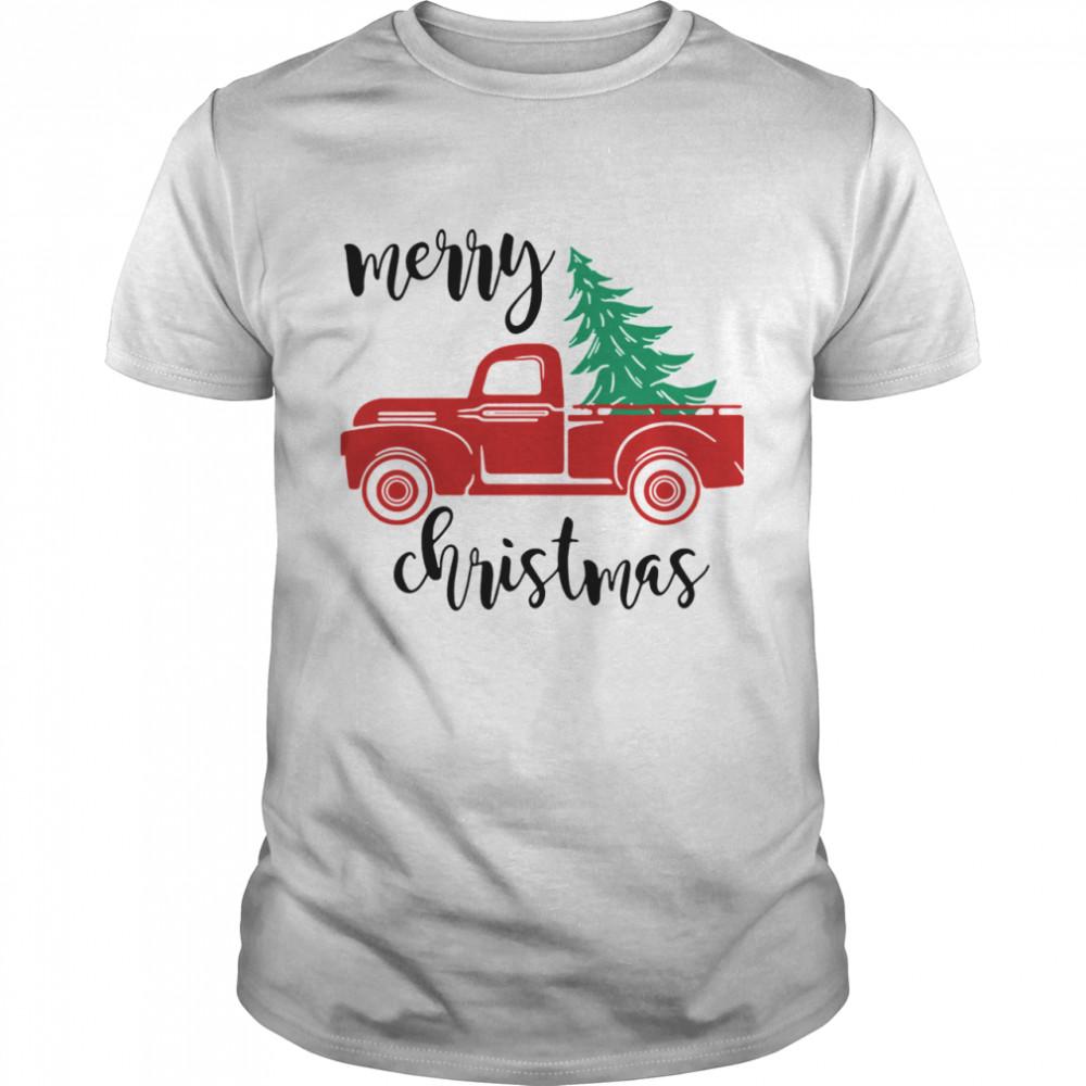 Merry Christmas Truck Christmas shirt