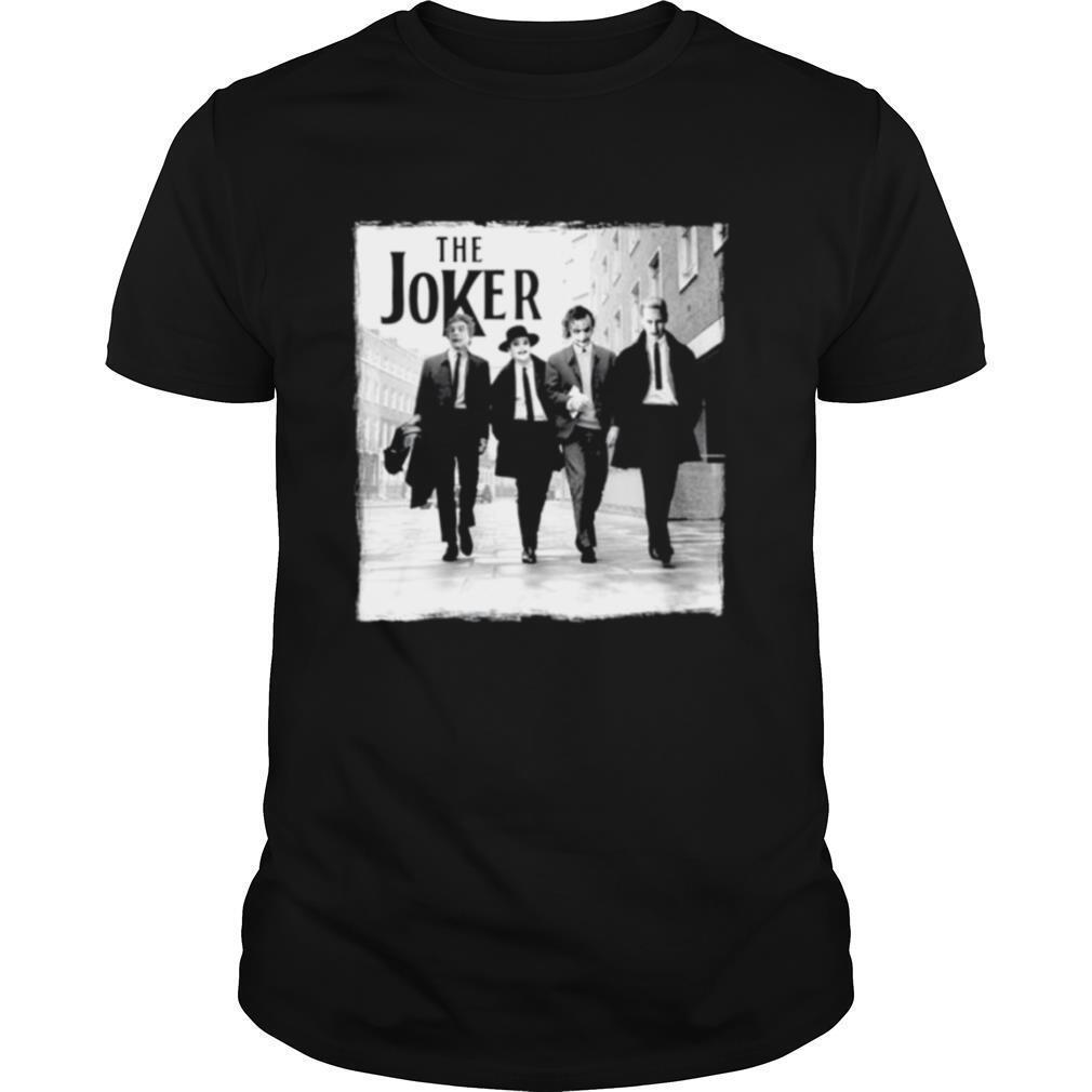 The Joker abbey road shirt