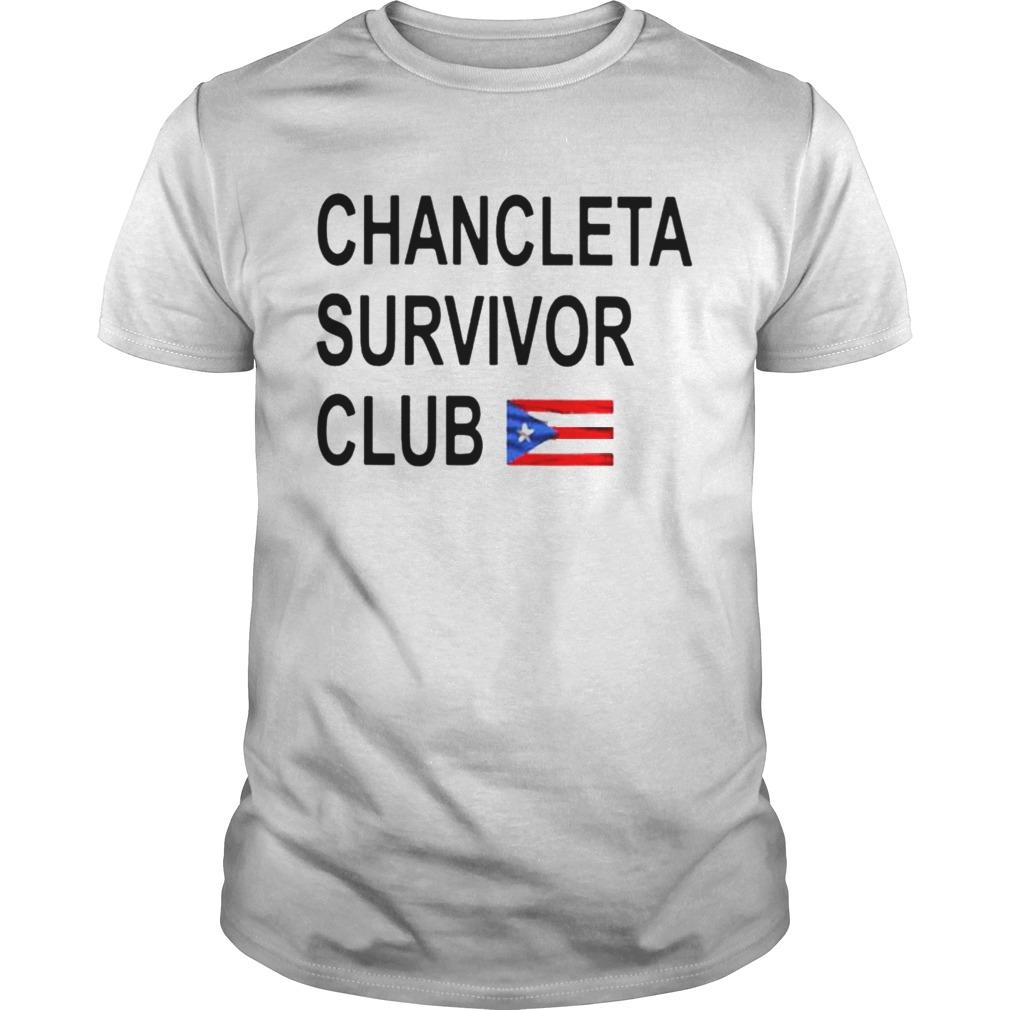 Chancleta survivor club shirt