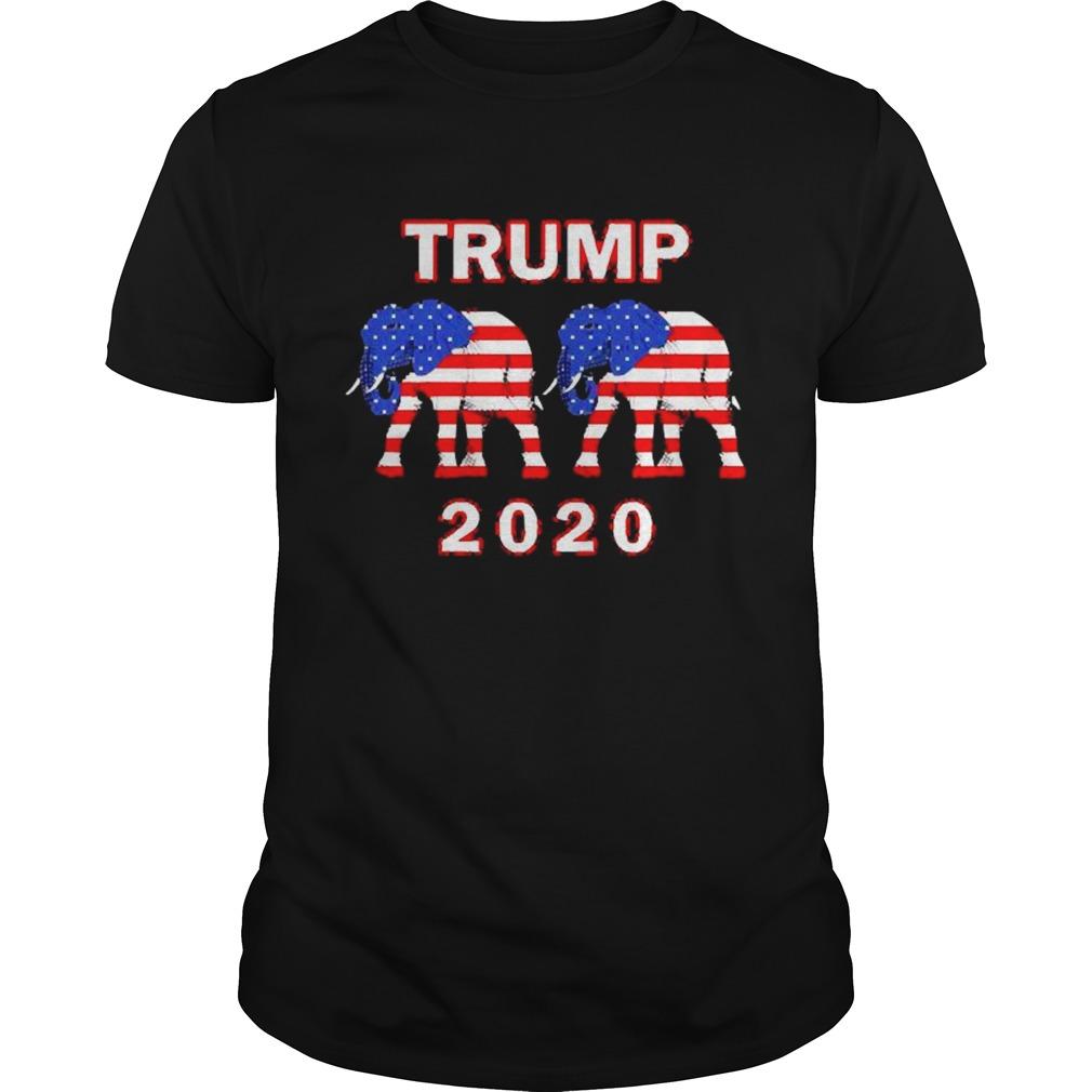Elephant American Trump 2020 shirt