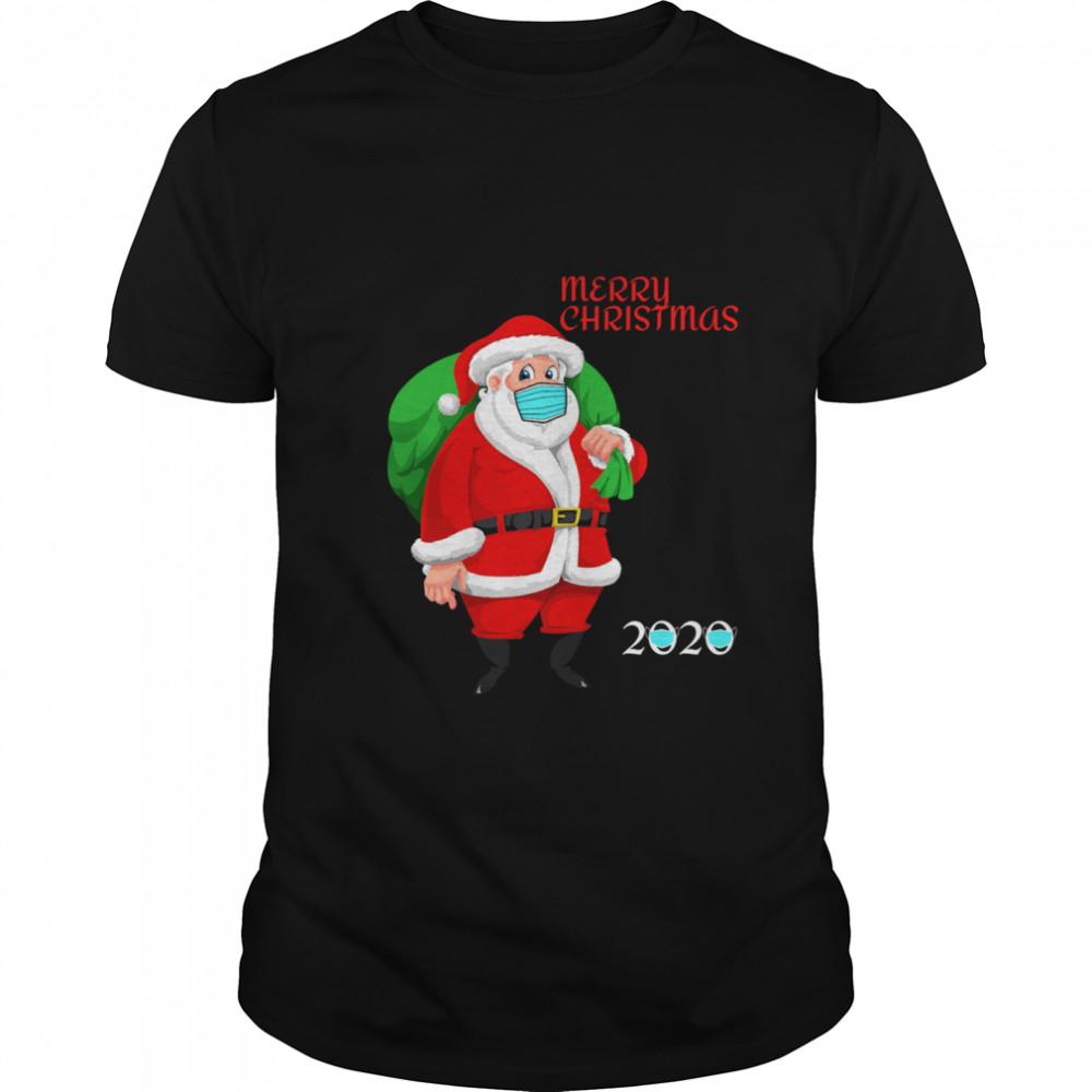 Mask Christmas Mask Santa Claus 2020 shirt