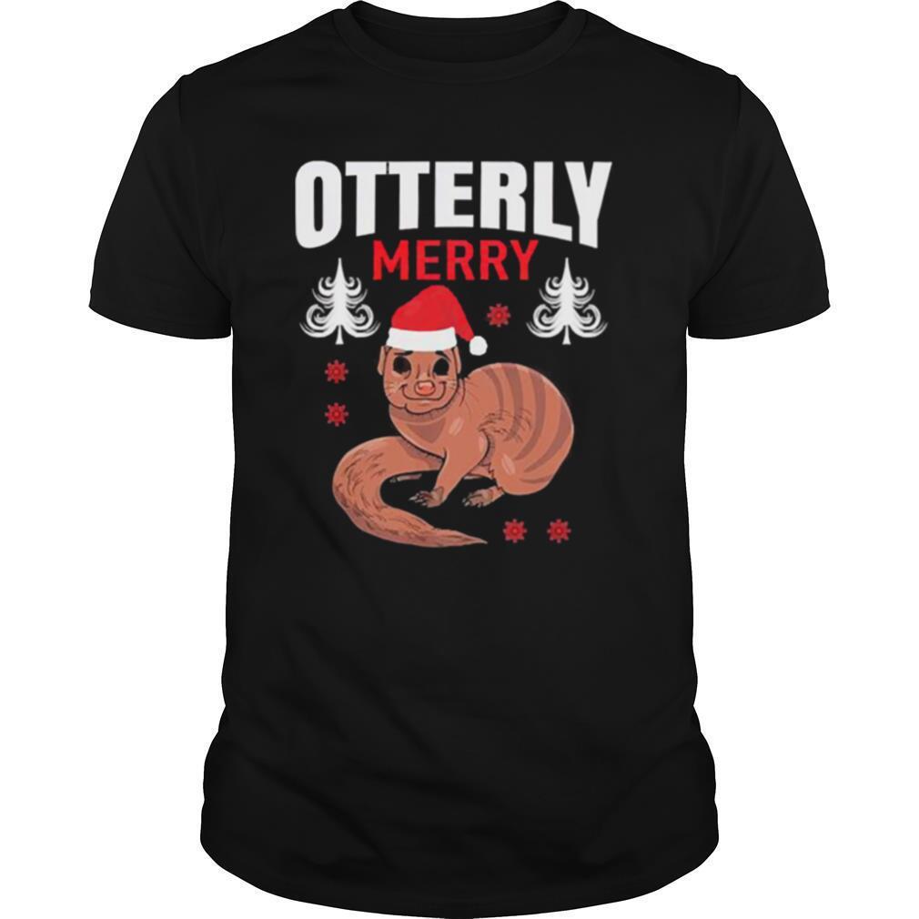 Otterly Santa Merry christmas shirt