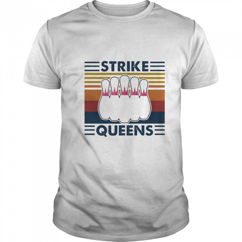 Strike Queens Vintage Retro shirt