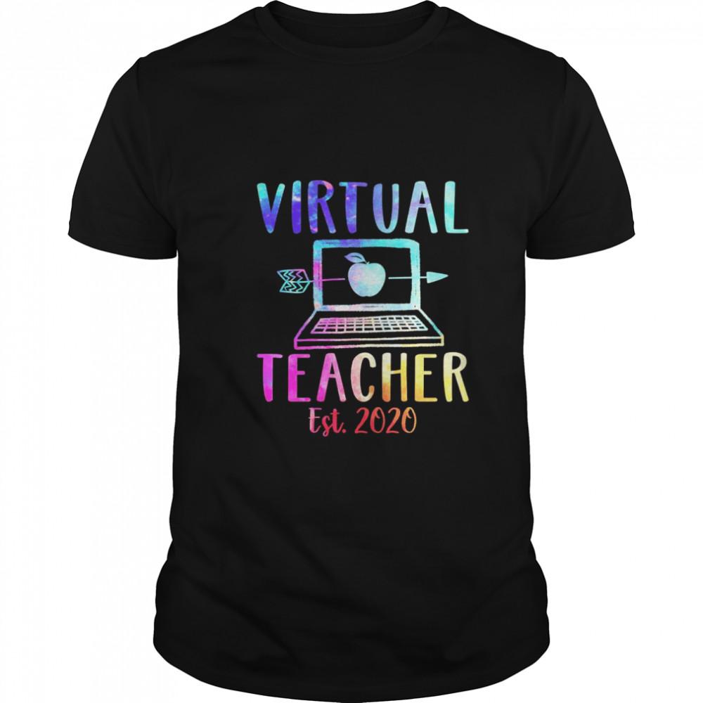 Virtual teacher est 2020 shirt