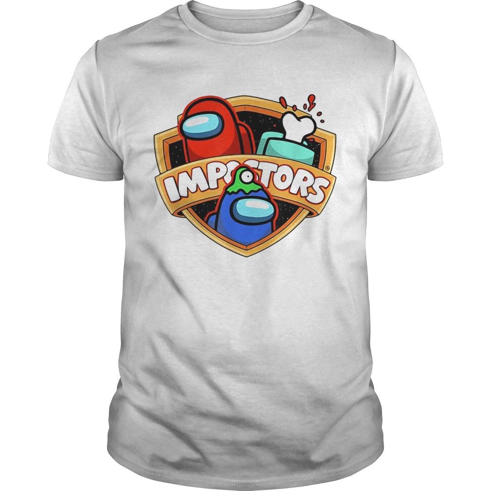 Imposter Impostor Among Game Us Sus Gift shirt