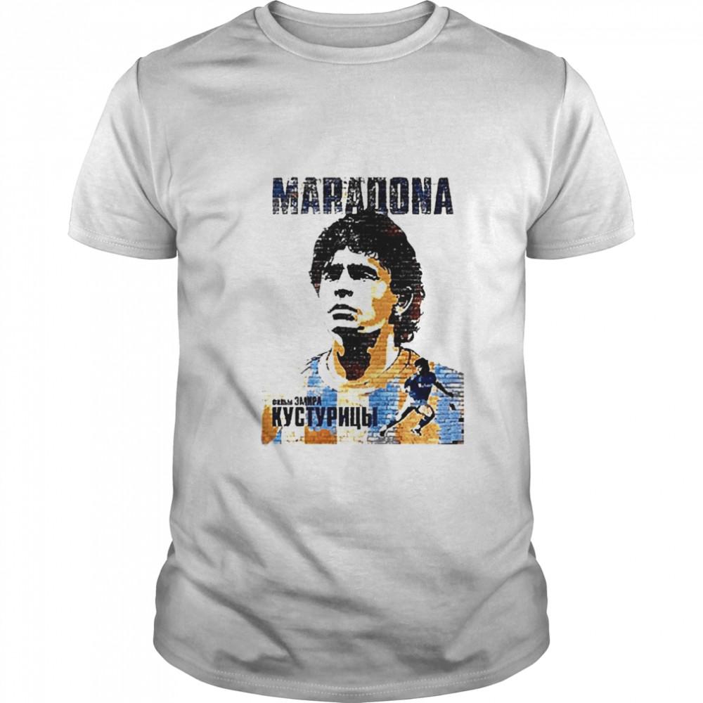 Love Diego Maradona forever shirt