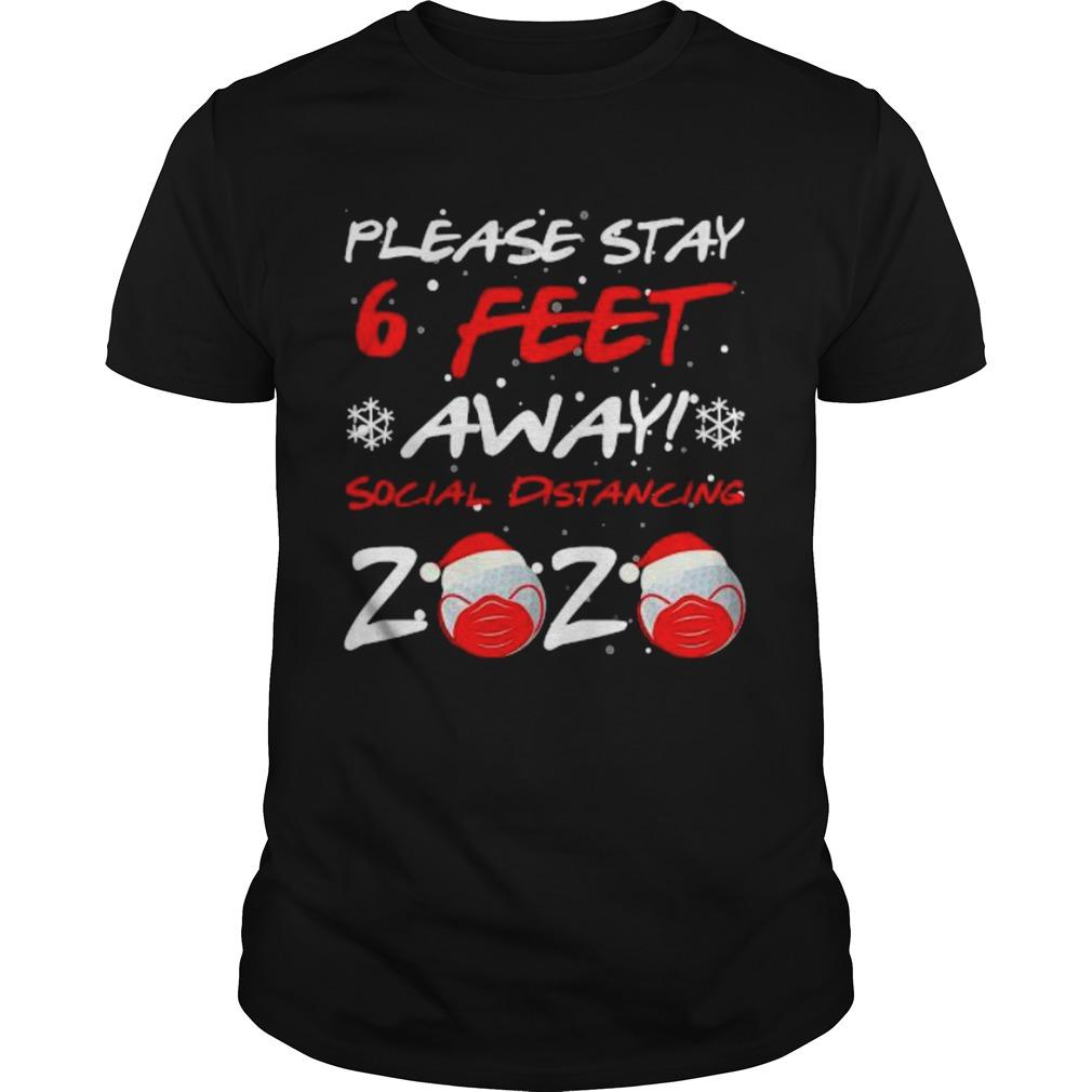 Please Stay 6 Feet Golf In Mask Social Distancing 2020 Wear Mask shirt