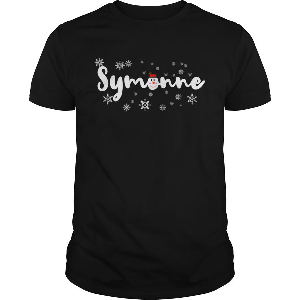 Symonne Harrison Boyfriend shirt