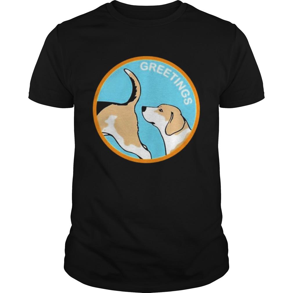 Doglimited merch greetings shirt