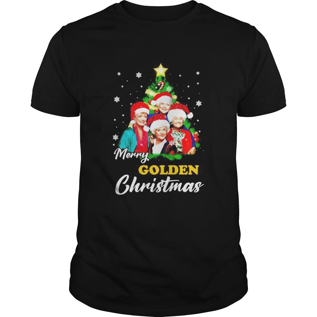 Merry Golden Christmas shirt