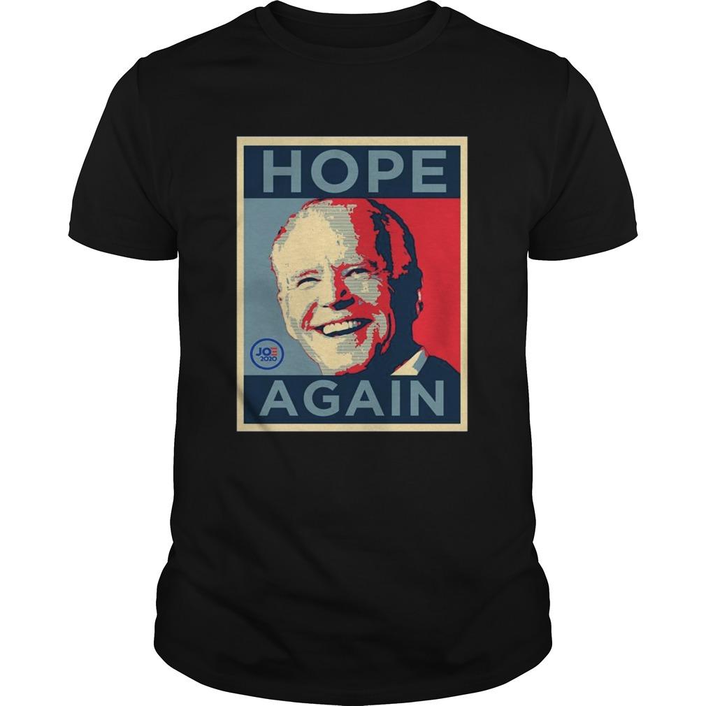 Biden 2020 Hope Again Obama style President shirt
