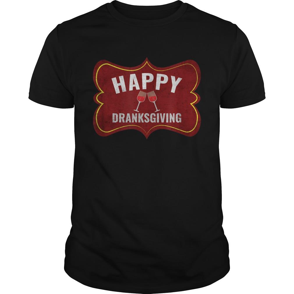 Happy Dranksgiving Beer Drinker Thanksgiving shirt