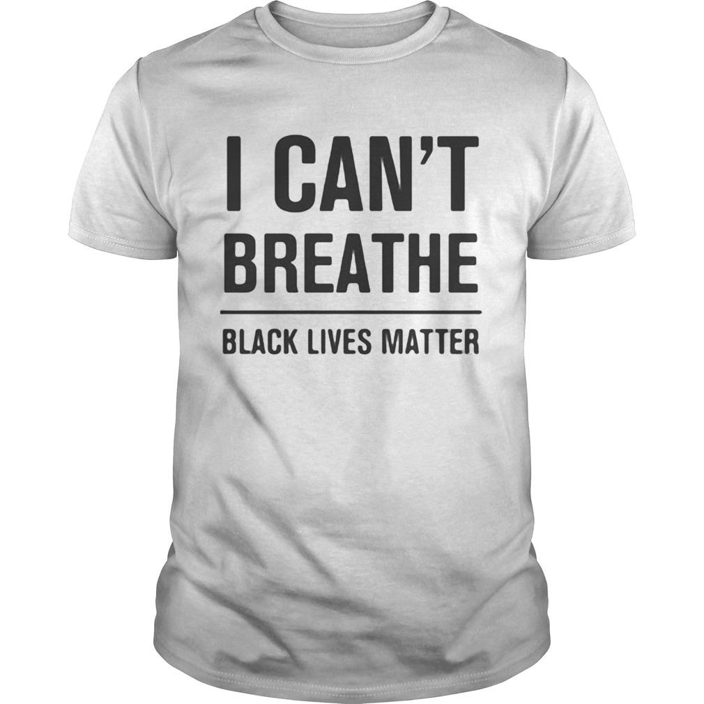 I Cant Breathe Black Lives Matter Election shirt