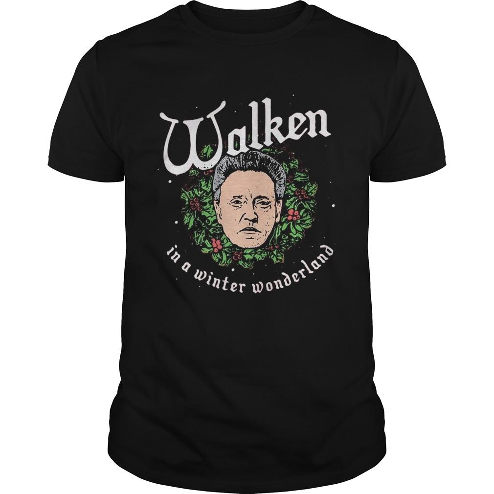 Walken In A Winter Wonderland Christmas shirt