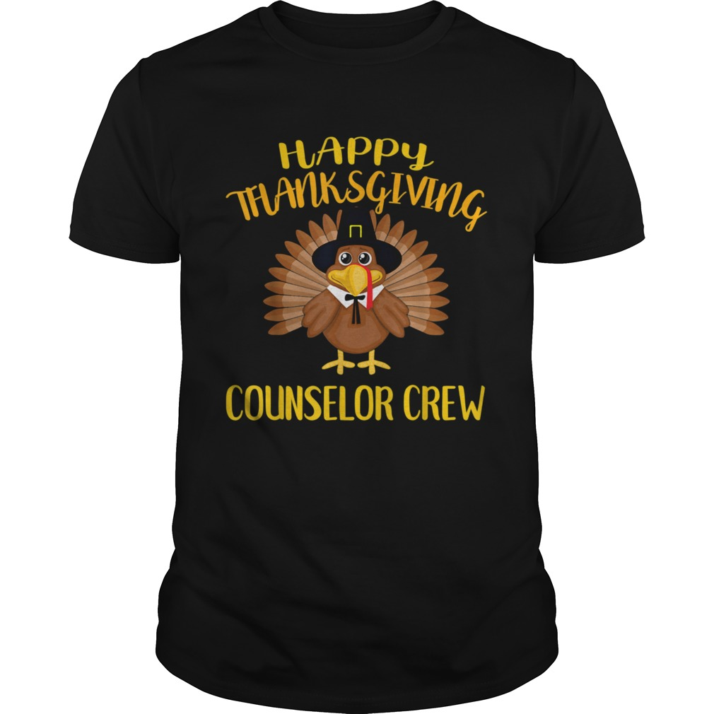 Counselor Crew Thanksgiving Day Turkey For Counselor shirt