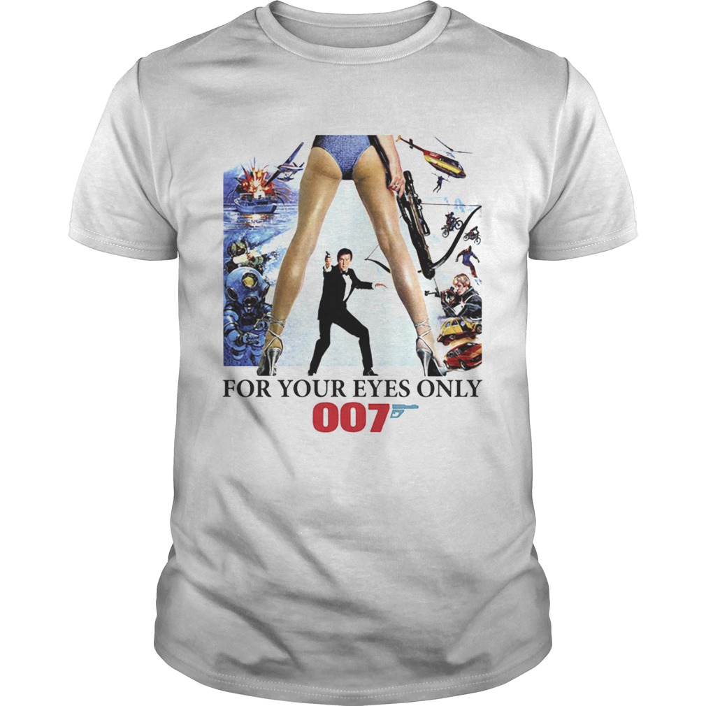 James Bond 007 For Your Eyes Only 1970s shirt
