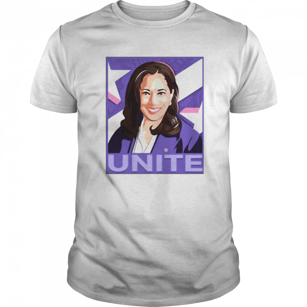 unite kamala election shirt