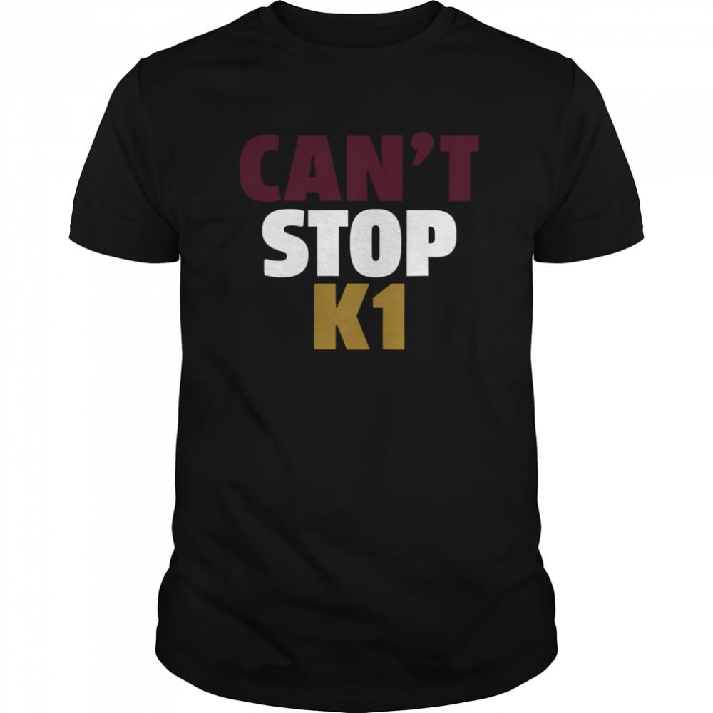 Can't Stop K1 Arizona Football shirt