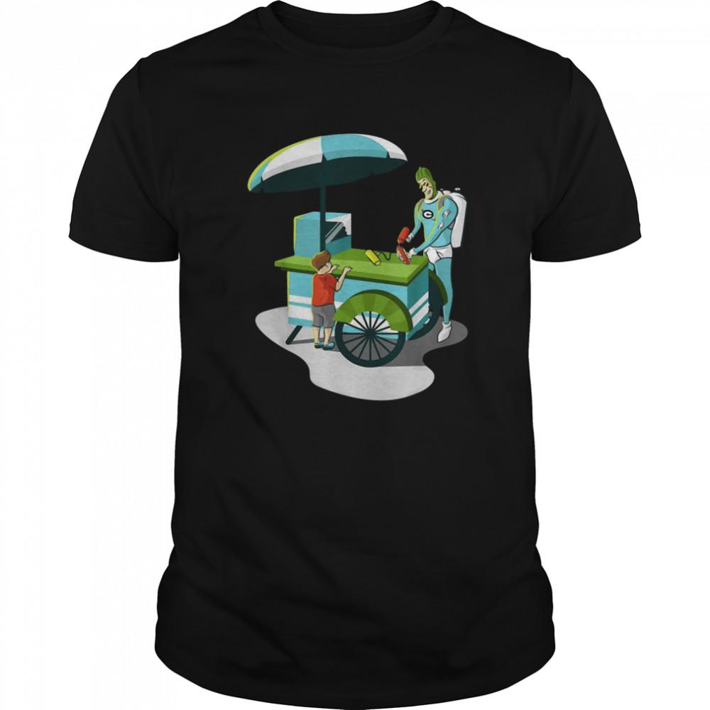 Colorful DC Fandom Batman Condiment Kings Cart shirt