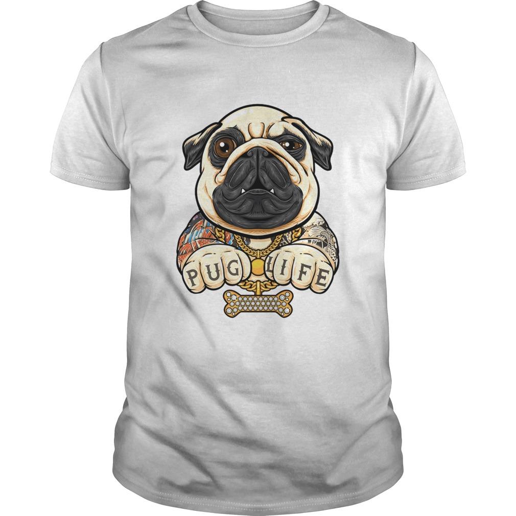 Tattoo Pug life shirt