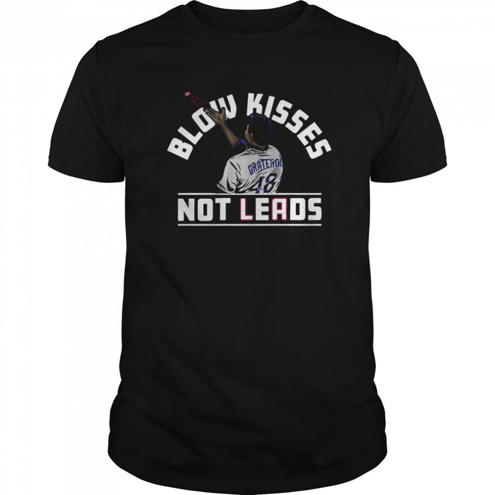 Blow kisses not leads graterol 48 shirt