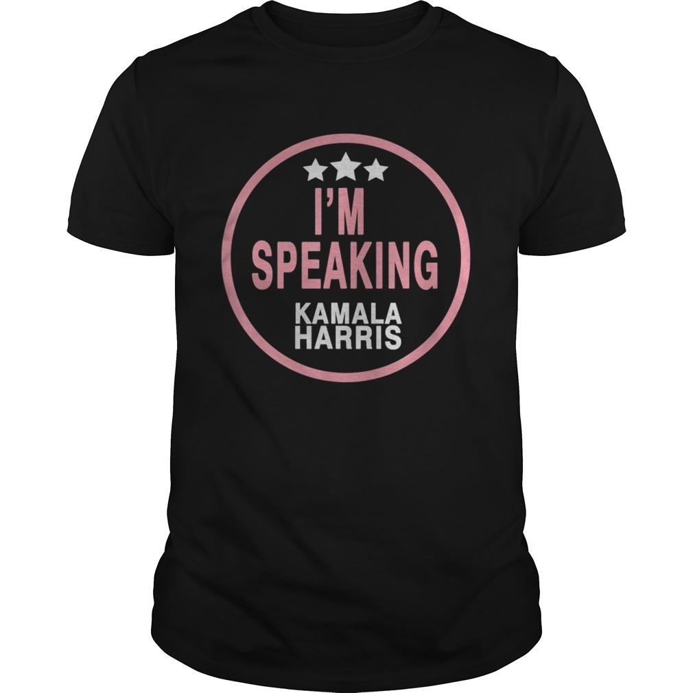 Im speaking Kamala harris shirt