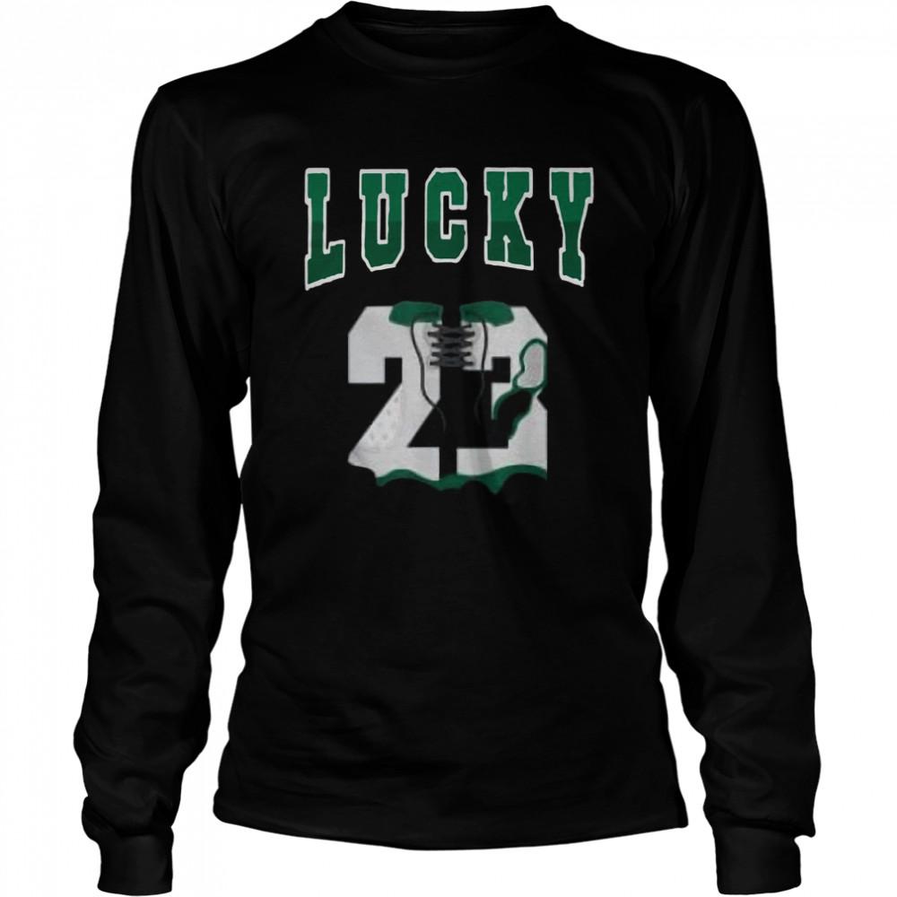 Lucky 23 Made to Match Jordan 13 Lucky Green Retro shirt