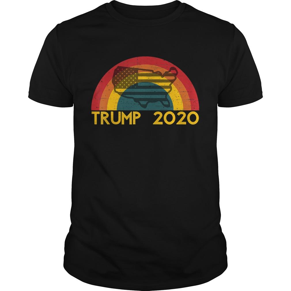 Retro Trump 2020 Presidential Election shirt
